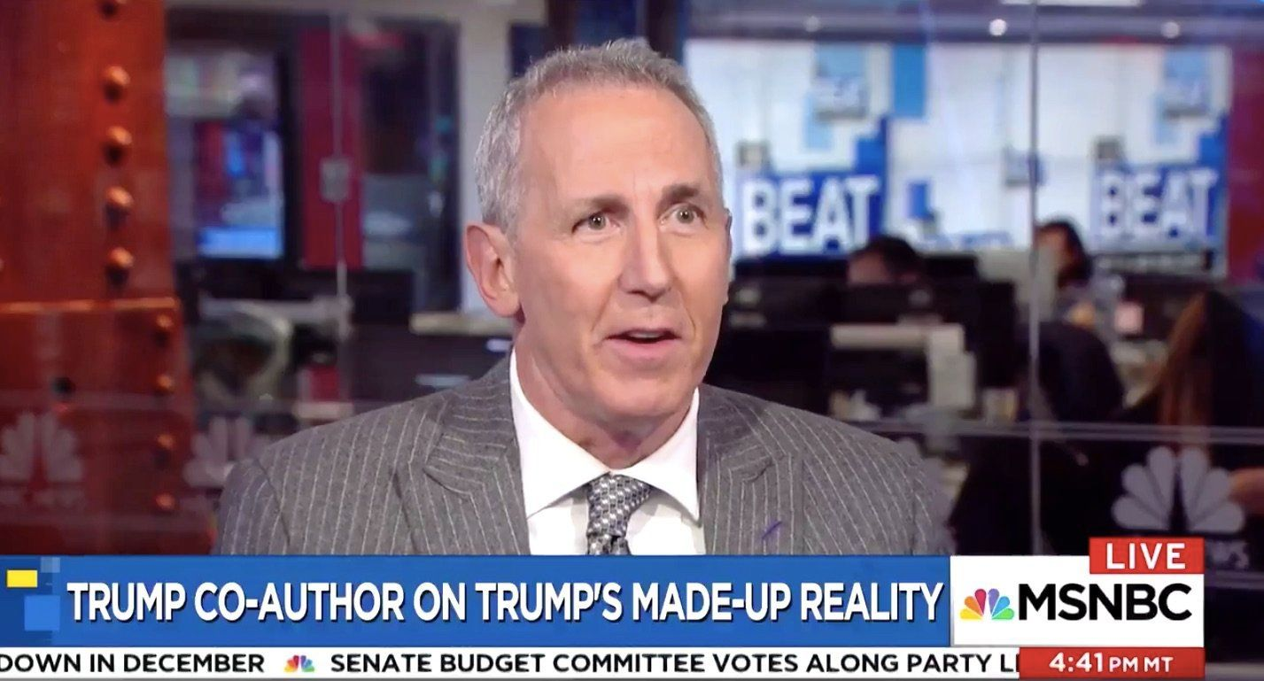 Trump's Co-Author: White House Now 'Deeply Concerned About His Mental Health'