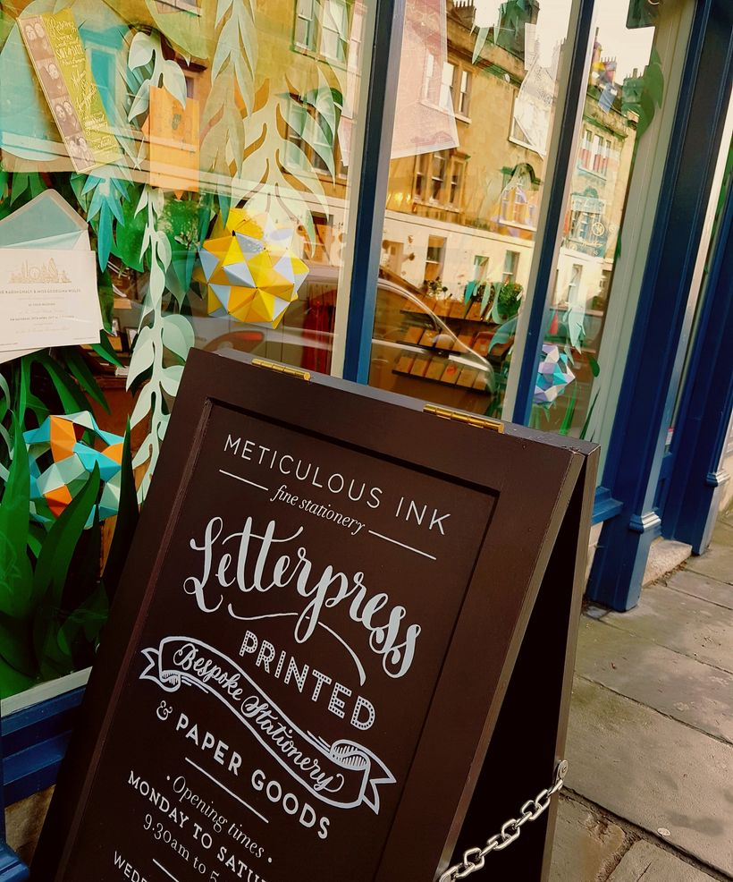 One of Bath's many one-off, independently owned shops