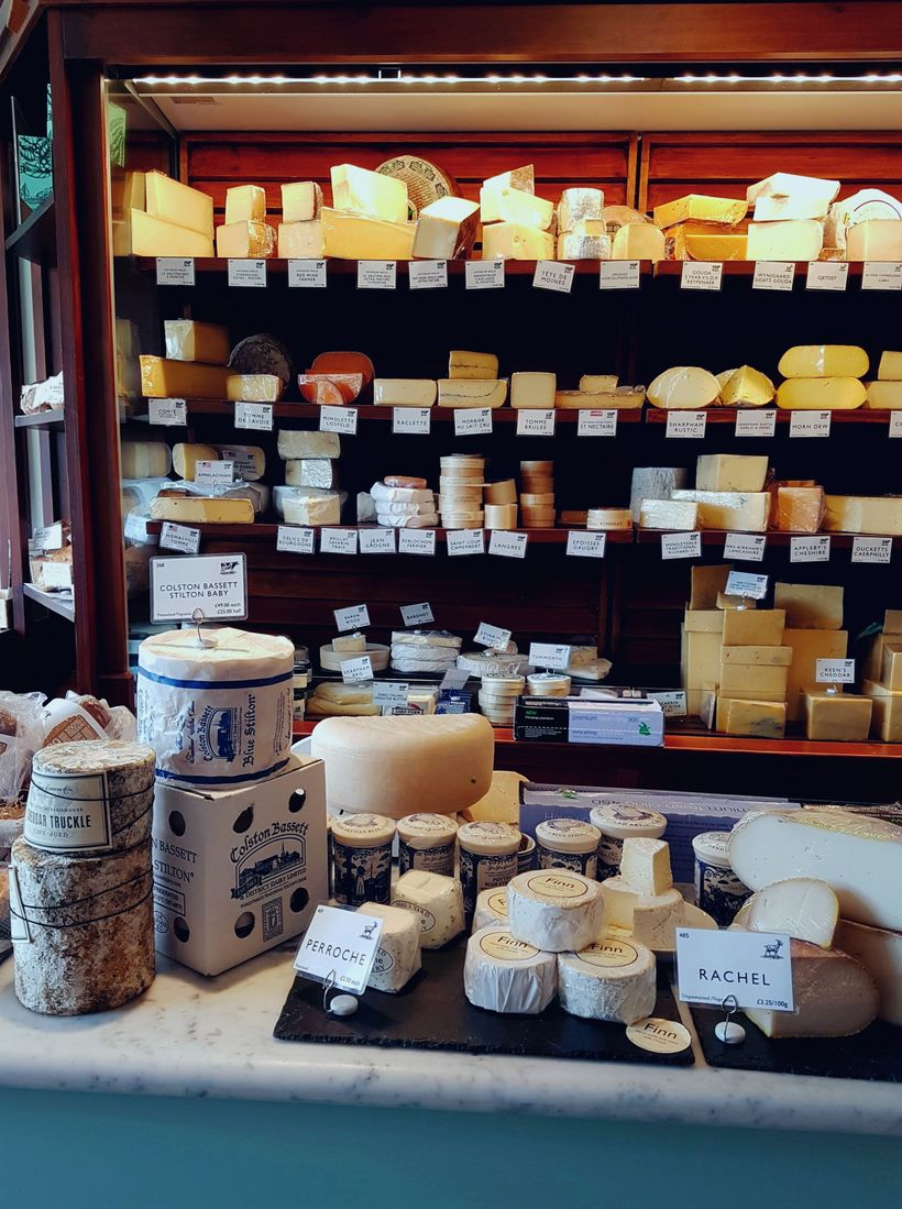 A Bath original: the 28-year-old Fine Cheese Co.