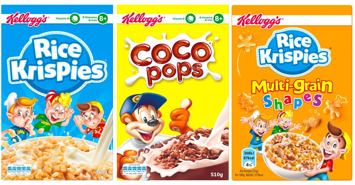 Kellogg's To Cut Sugar In Popular Cereals By Up To 40% Next