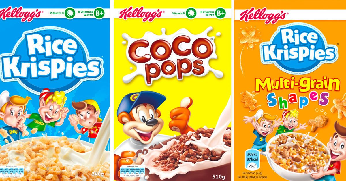 Kellogg S To Cut Sugar In Por Cereals By Up 40 Next Year