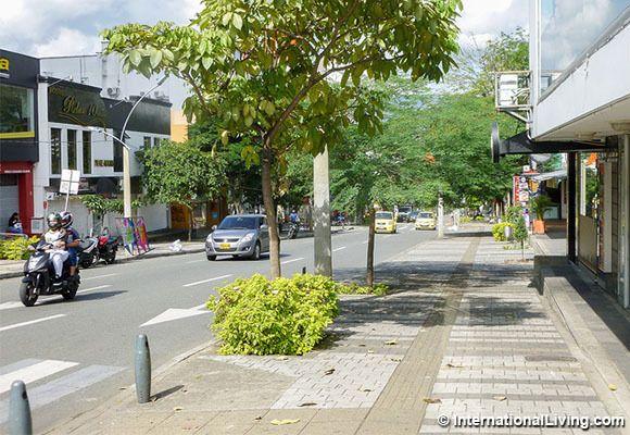El Poblado neighborhood, Medellin, Colombia.
