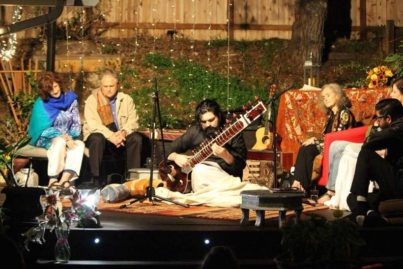 """""""Phenomenal performances by Omar Pitras Waqar— Omar's rendition of the English Ghazal (mine and his own) is true to the tradi"""