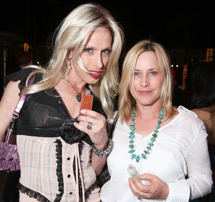 "Oscar-winning sister Patricia Arquette (right) shared sister Alexis' battle with AIDS-related stigma on <a rel=""nofollow"" hre"