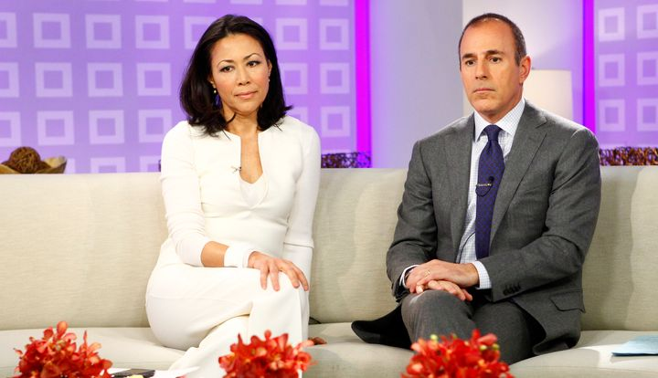 "Curry and Lauer appear on NBC News' ""Today"" show."