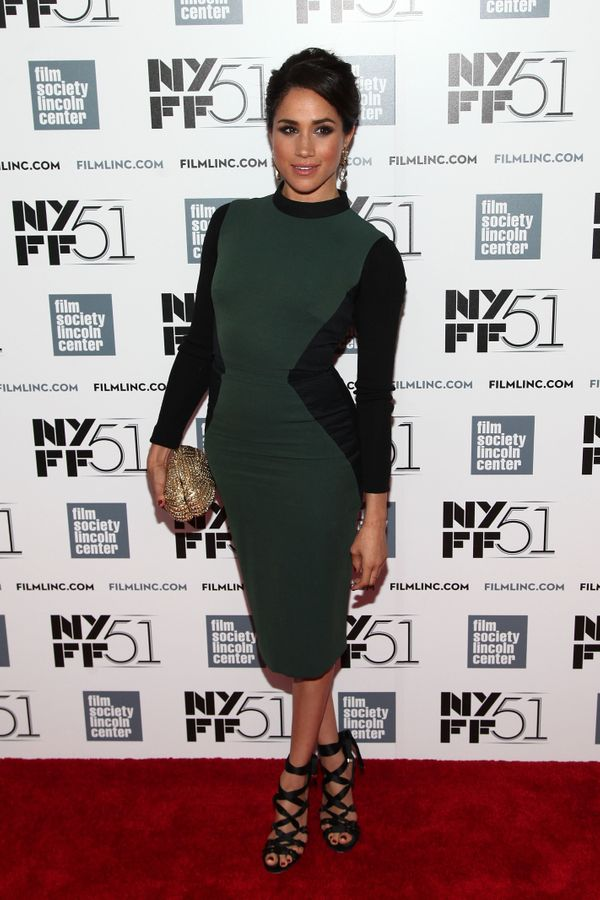 At the Gala Tribute to Cate Blanchett during the 51st New York Film Festival at Alice Tully Hall at Lincoln Center.