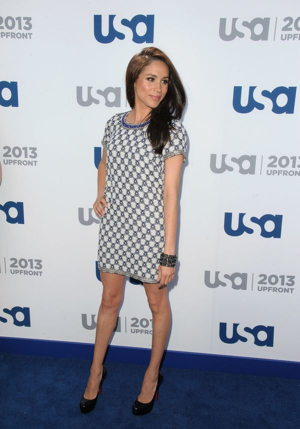 At USA Network's 2013 Upfront Event at Pier 36 in New York.