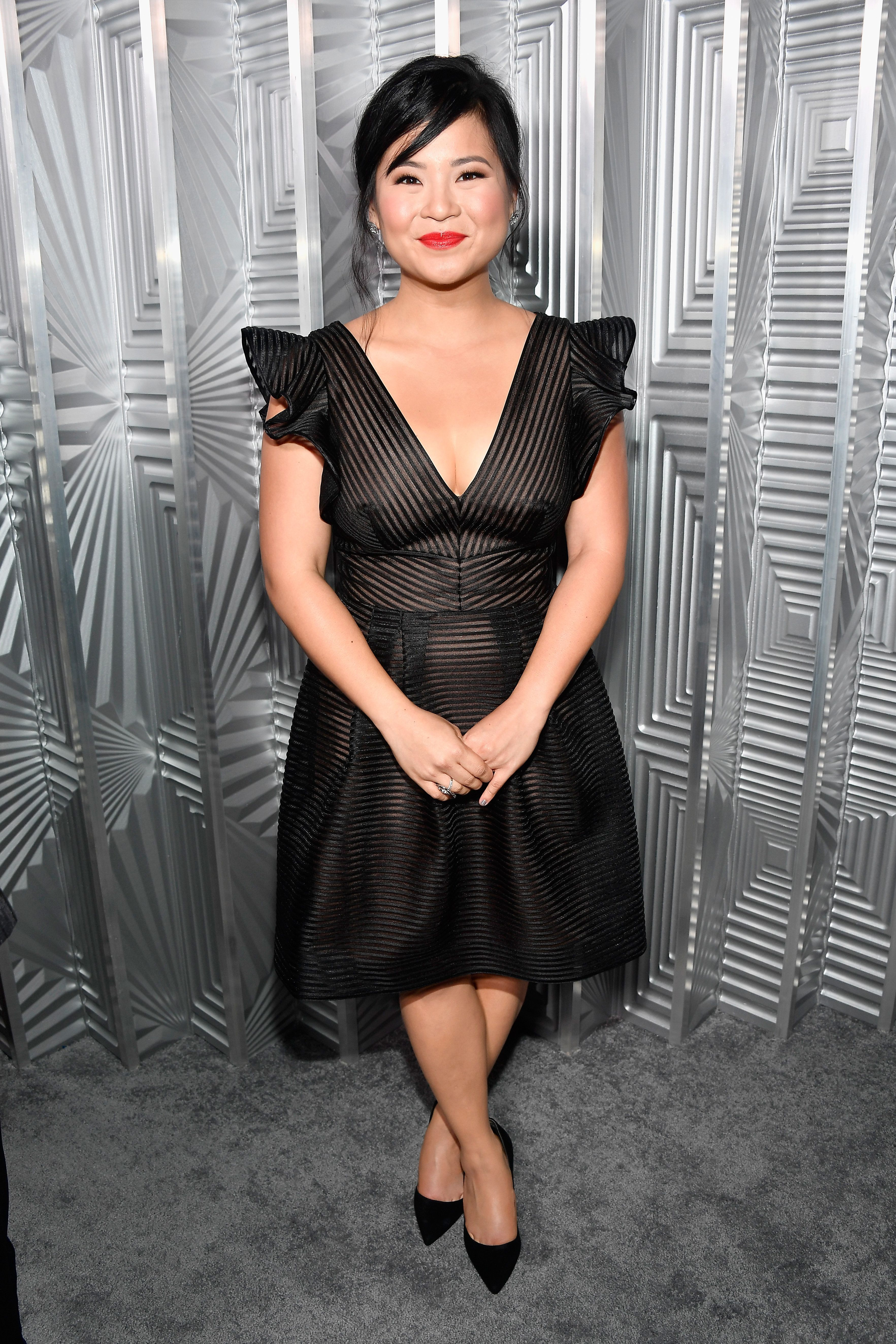 LOS ANGELES, CA - OCTOBER 16:  Kelly Marie Tran attends ELLE's 24th Annual Women in Hollywood Celebration presented by L'Oreal Paris, Real Is Rare, Real Is A Diamond and CALVIN KLEIN at Four Seasons Hotel Los Angeles at Beverly Hills on October 16, 2017 in Los Angeles, California.  (Photo by Frazer Harrison/Getty Images for ELLE)