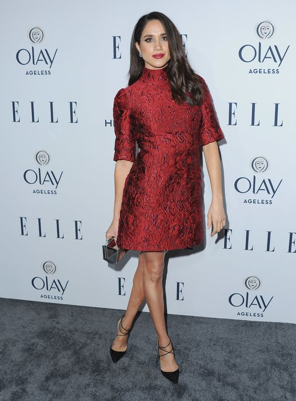 At ELLE's 6th Annual Women in Television Dinner at Sunset Tower Hotel in West Hollywood, California.