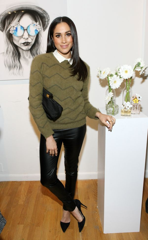 At the Marc Jacobs Daisy Chain Tweet Pop Up Shop Party in New York.