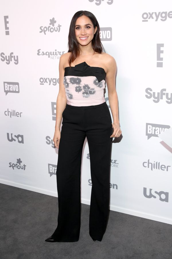 At the 2015 NBCUniversal Cable Entertainment Upfront at the Javits Center in New York.