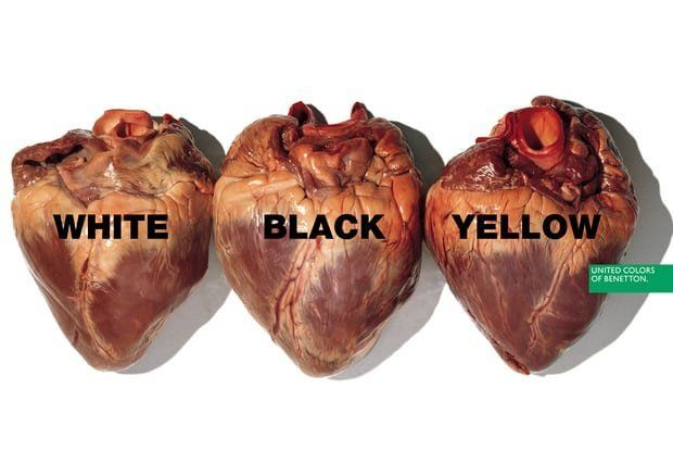 A Benetton advert created by Toscani in