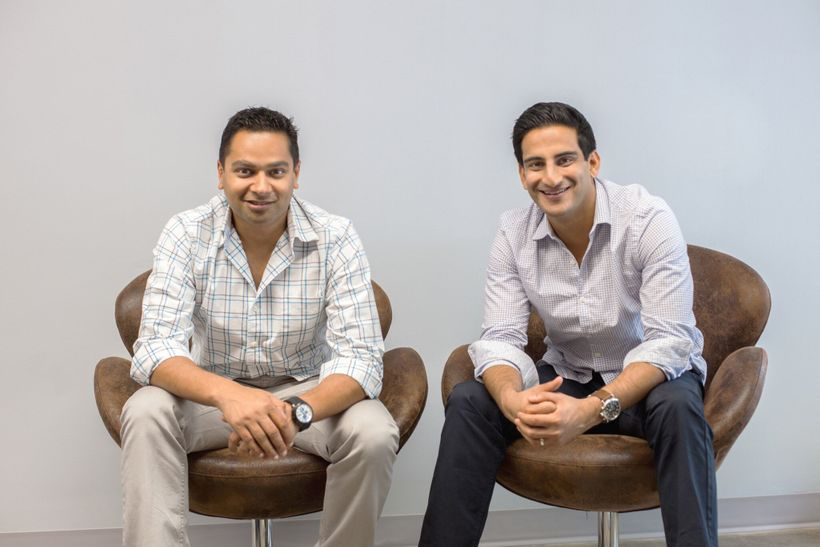 Unshackled Ventures Founders Manan Mehta (right) and Nitin Pachisia (left)