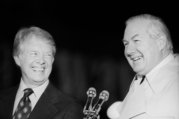 Ex-ambassador Peter Jay said of Jimmy Carter (left) and James Callaghan (right): 'There was something...