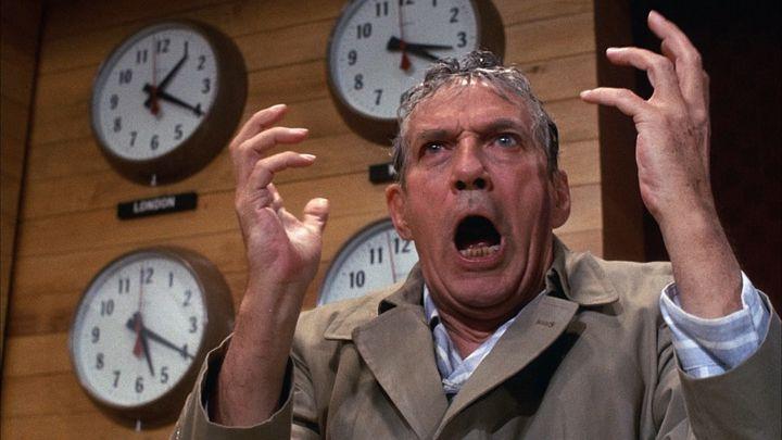 "Howard Beale in ""Network"""