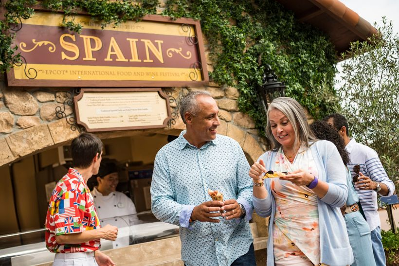 The EPCOT International Food & Wine Festival serves up delicious menus from over a dozen countries and regions from aroun