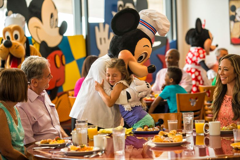 Character dining is a wonderful opportunity to get quality time with some of your family's favorite characters from Mickey an