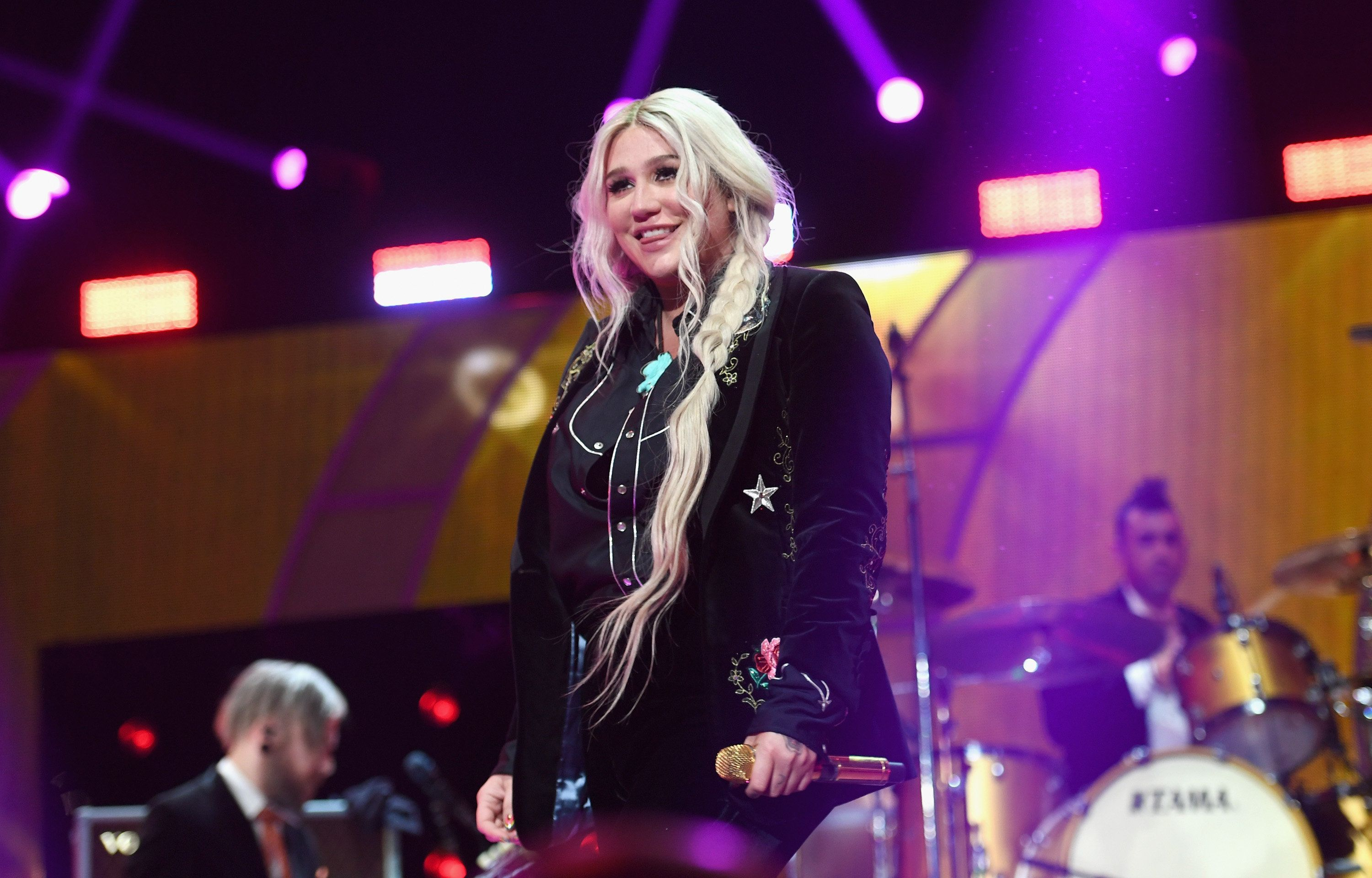 Kesha performs during the 2017 iHeartRadio Music Festival on Sept. 23. Shewrote an essayfor Time magazine on how
