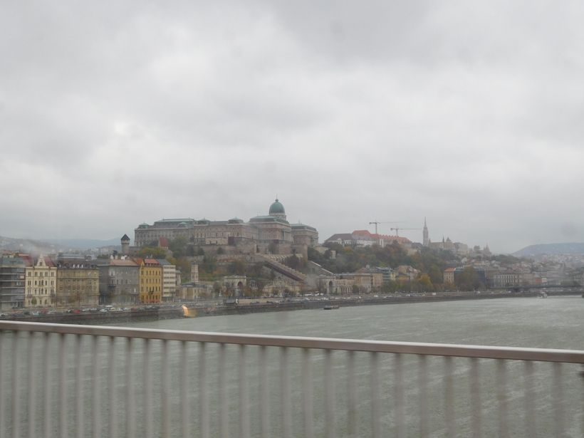 <strong>Buda from Pest on a rainy day</strong>
