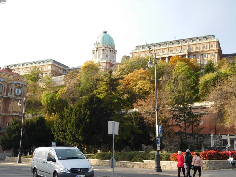 <strong>Royal Palace, from Buda</strong>