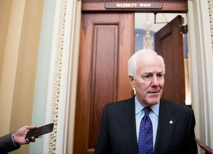 """I can show you a poll for anything,"" said Senate Majority Whip John Cornyn."