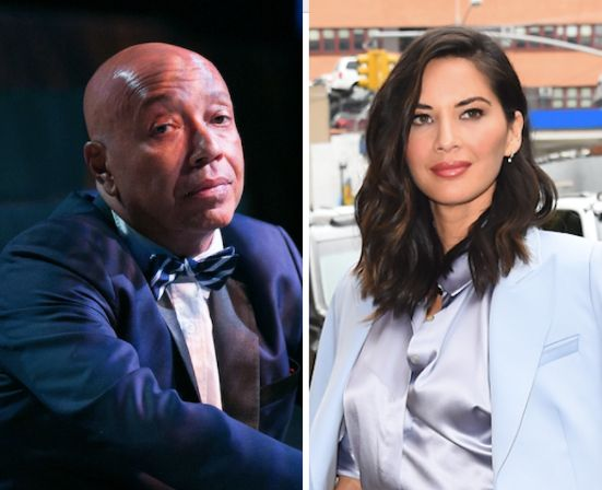 "When Russell Simmons suggested that his accuser had felt fear and intimidation because he was ""insensitive,"" Olivia Munn"