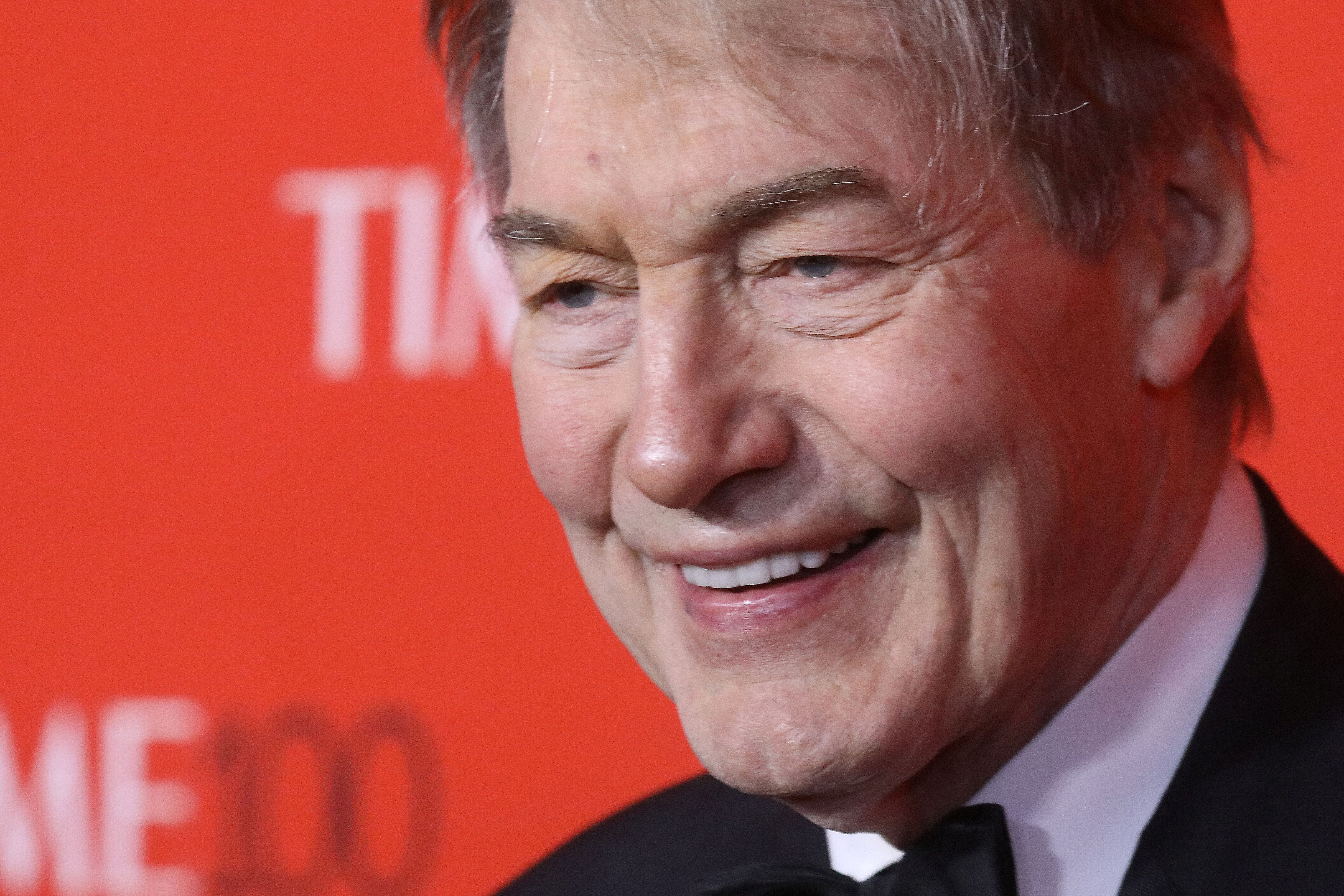 TV host Charlie Rose arrives for the Time 100 Gala in the Manhattan borough of New York, New York, U.S. April 25, 2017.   REUTERS/Carlo Allegri