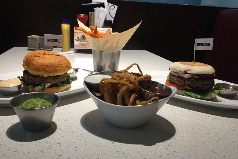 The Impossible Burger at The Counter