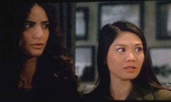 Yasmin and girlfriend, Scandal
