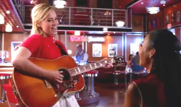 Dani and Santana, Glee