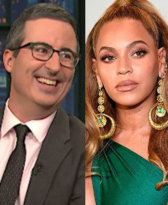 John Oliver Fanboying Over 'Real Life Royalty' Beyoncé Is A True