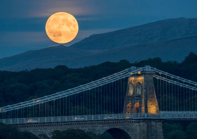 Supermoon visible Sunday night