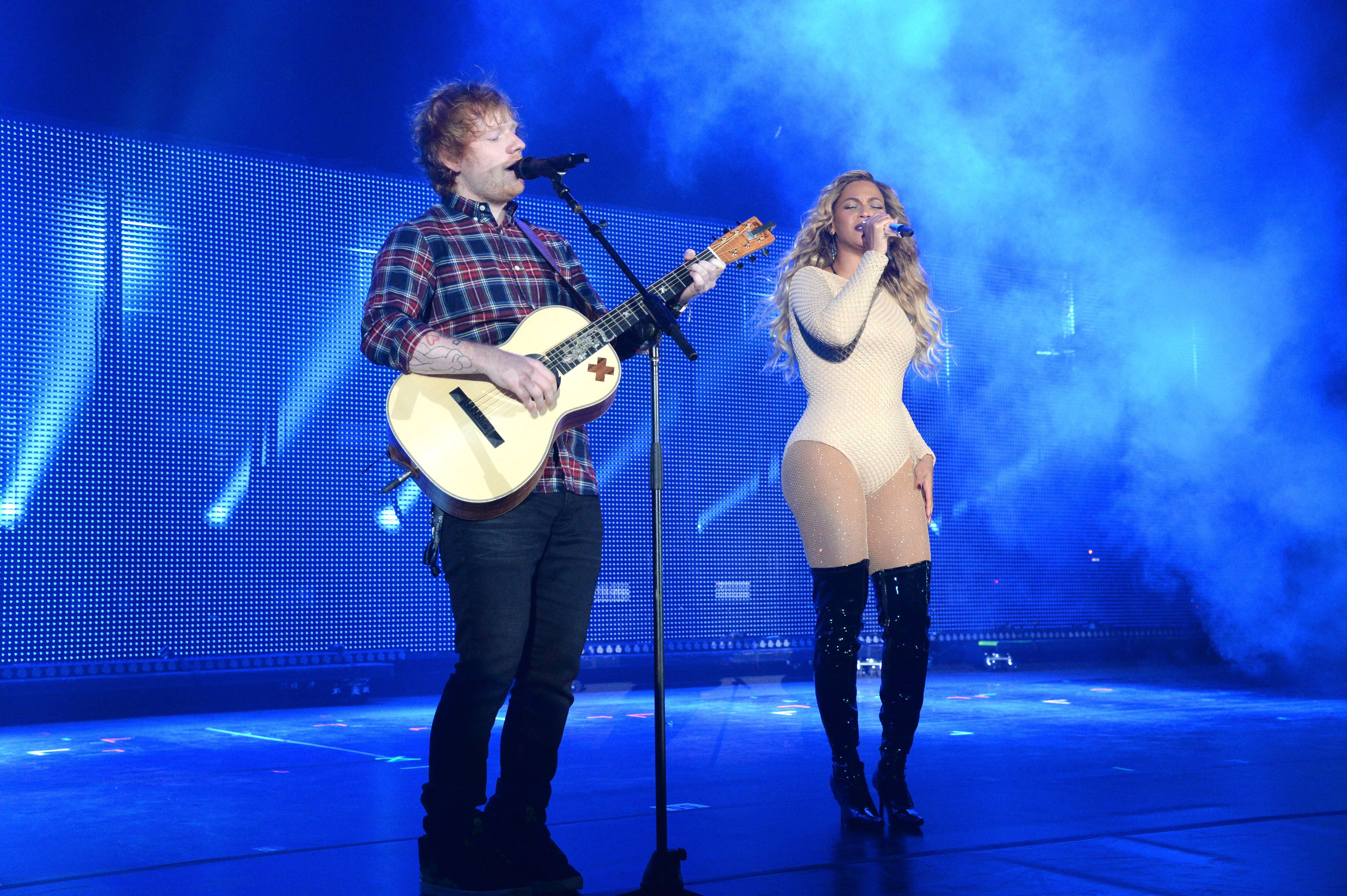 Ed Sheeran And Beyoncé Probably Just Ended The Race For Christmas Number