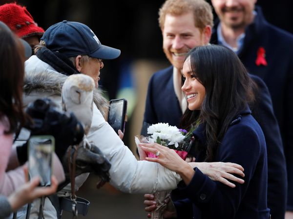 Prince Harry, Meghan Markle Meet Their Adoring Fans For The First Time Since Their Engagement