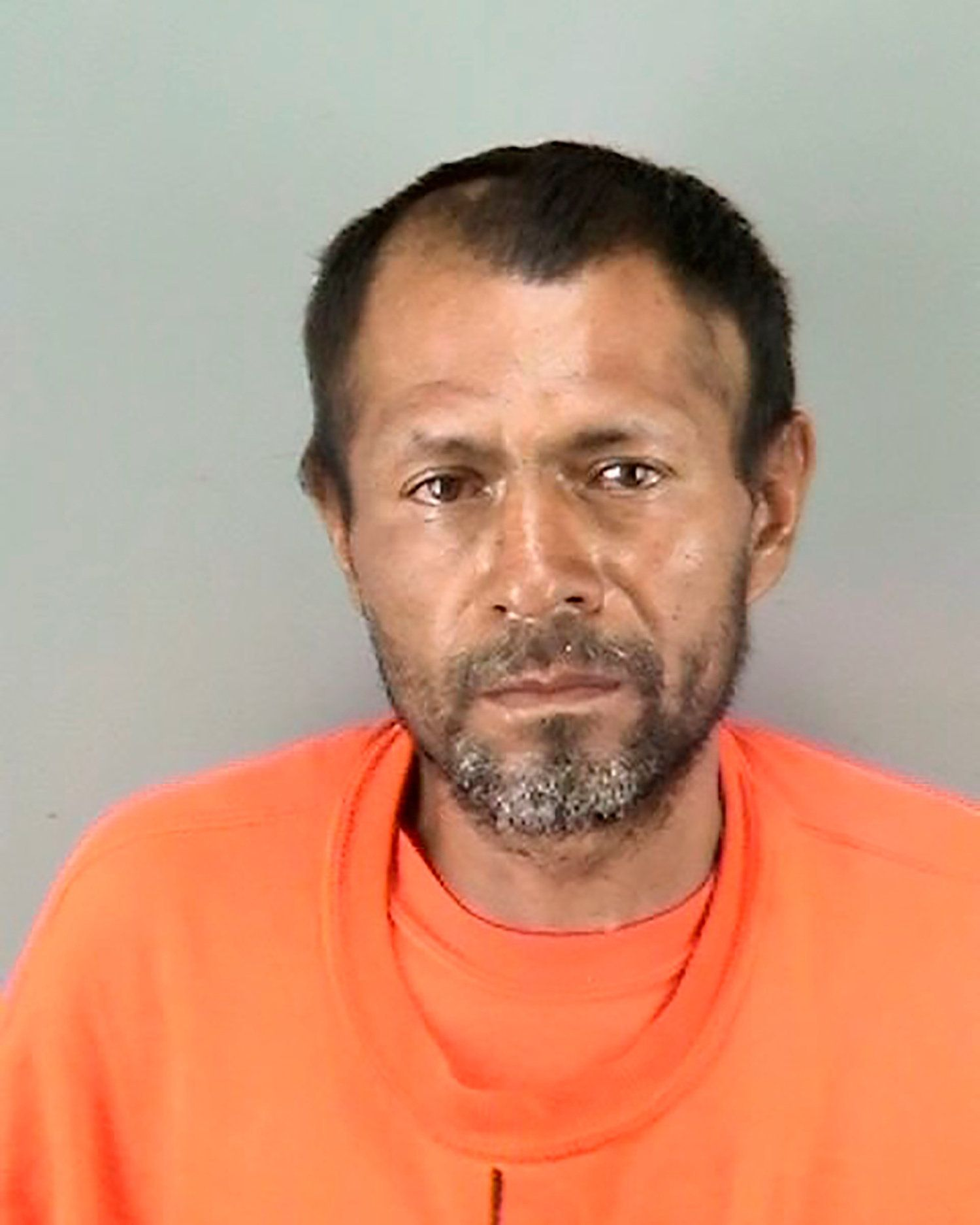 FILE PHOTO: Jose Ines Garcia Zarate, arrested in connection with the July 1, 2015, shooting of Kate Steinle on a pier in San Francisco, California, U.S. is seen in an undated photo released by the San Francisco Police Department.    Courtesy San Francisco Police Department/Handout via REUTERS   ATTENTION EDITORS - THIS IMAGE HAS BEEN SUPPLIED BY A THIRD PARTY.