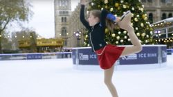 10-Year-Old Cancer Survivor's Sensational Skate Routine Shows How Far She Has