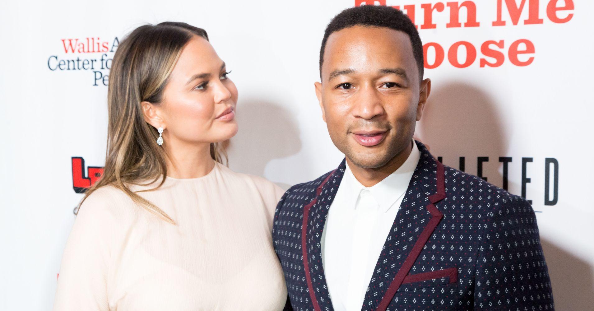 Chrissy Teigen Calls John Legend An A**hole In Sweet Anniversary Post