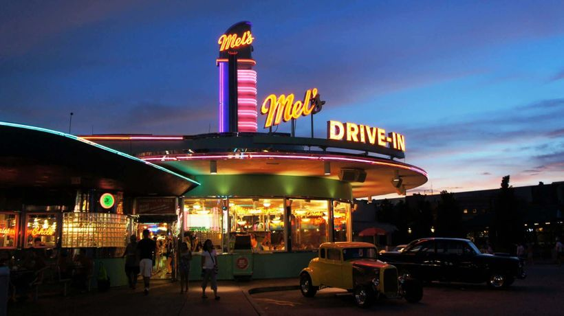 Mel's Drive-In at Universal just like the original in LA.