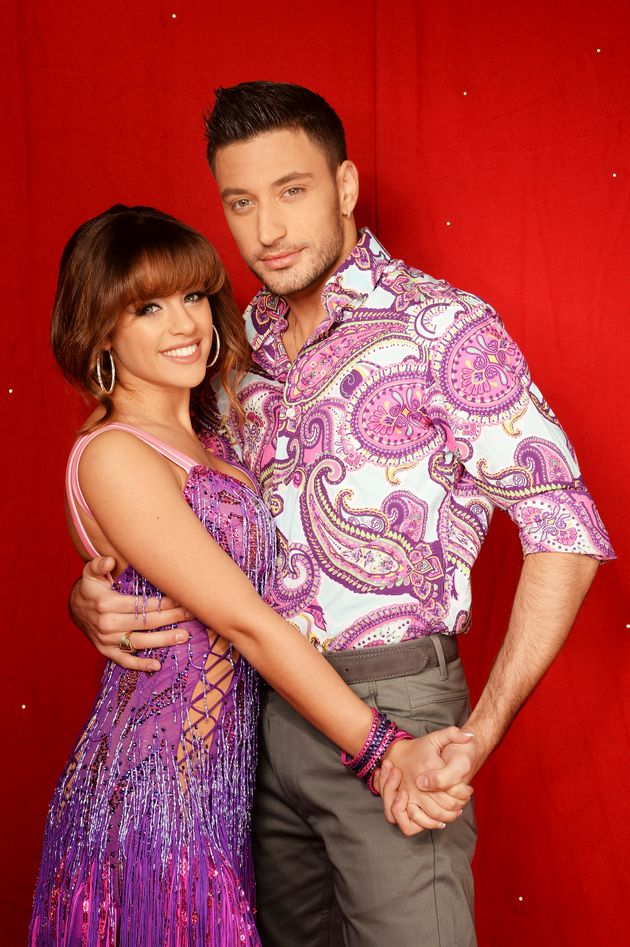 Giovanni Pernice and Georgia May