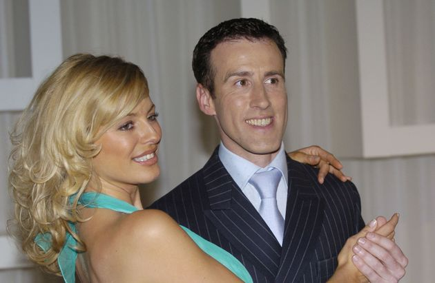 Anton Du Beke with 'Strictly' host Tess