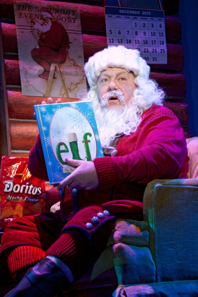 George Wendt in <em>Elf the Musical</em>