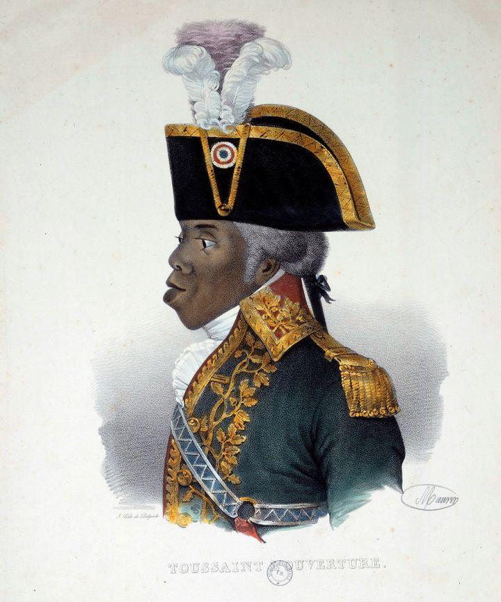 Portrait ofToussaint L'Ouverture (1743-1803).