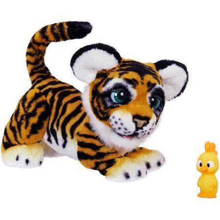 This adorable yet smart tiger pet responds to movements and roars with 100+ sound and motion combinations. Get it o