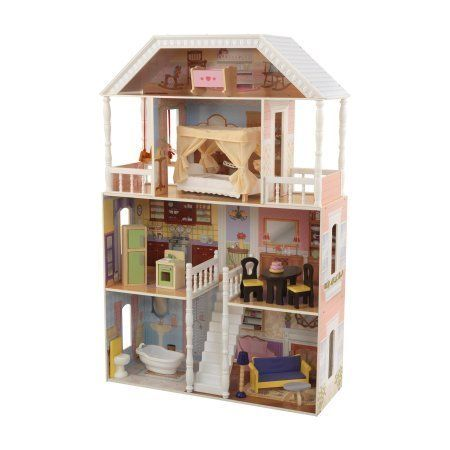 "Treat your little one with the gift of endless imagination with the Savannah dollhouse. It's also on-sale for <a href=""h"