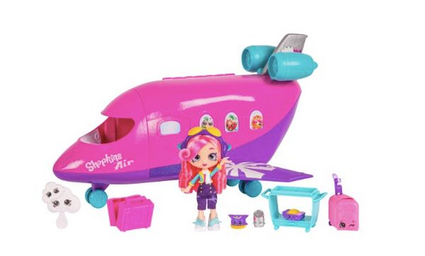 "This super cute jet can hold 3 jet-setting Shoppies in first class style! Get it <a href=""https://jet.com/product/product/c42"