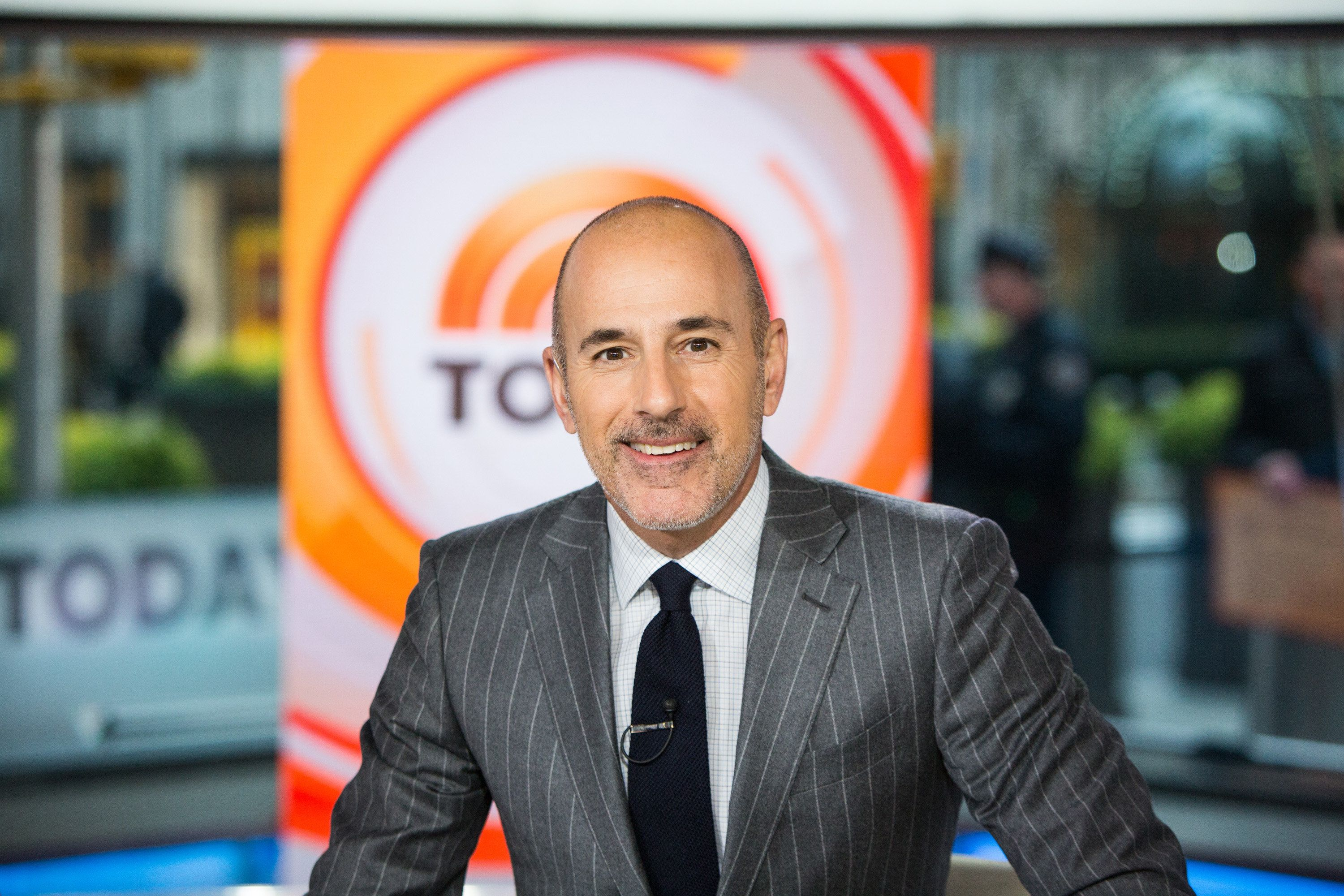 TODAY -- Pictured: Matt Lauer on Wednesday, November 8, 2017 -- (Photo by: Nathan Congleton/NBC/NBCU Photo Bank via Getty Images)