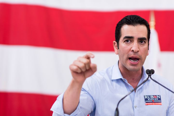 Rep. Ruben Kihuen (D-Nev.) has been accused of sexual harassment by a former campaign official.