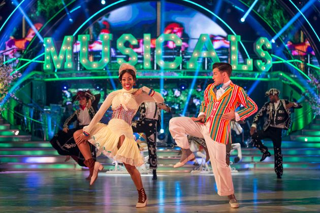Strictly Come Dancing Musicals Week - HuffPost