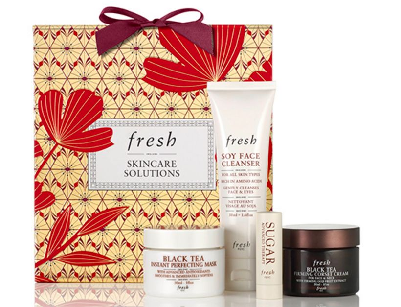 "<strong>Skincare Solutions Set</strong> from <a rel=""nofollow"" href=""http://www.fresh.com/US/gift-sets/skincare-solutions/H00"