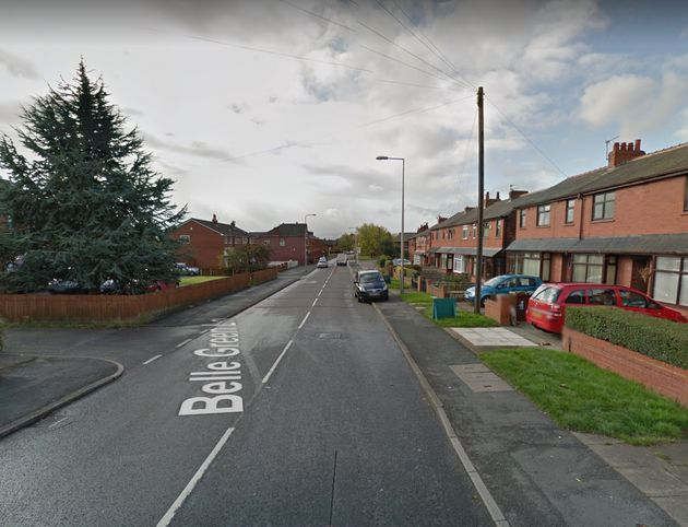 A woman was arrested on suspicion of neglect after toddler walks unaccompanied into shop on Belle Green...